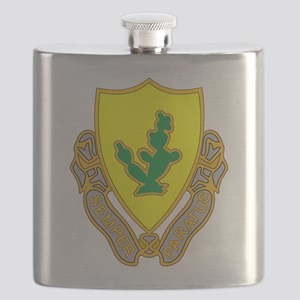 12th Cavalry Flask