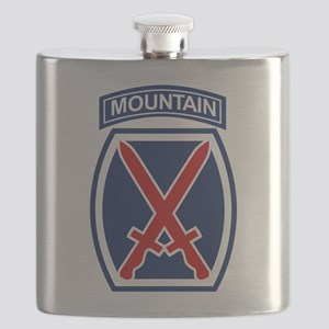 10th Mountain Division Flask