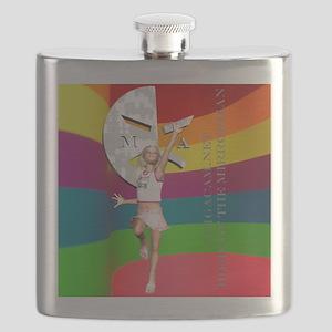 Cammie20ColorBrightShirt Flask