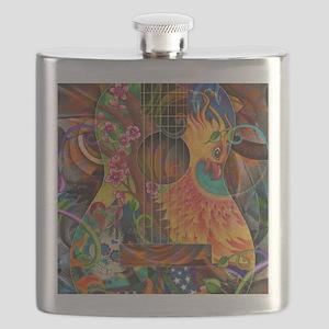 Phoenix Bird of Fire Guitar Flask