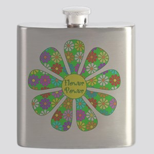 Cool Flower Power Flask
