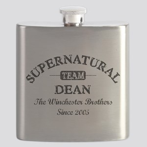 SUPERNATURAL Team DEAN black Flask