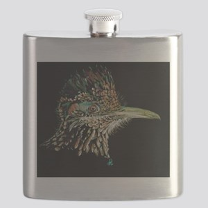 Greater Roadrunner Flask