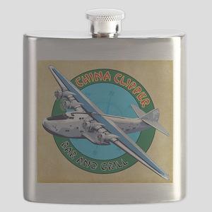 China Clipper Flask