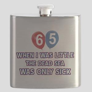 65 year old dead sea designs Flask