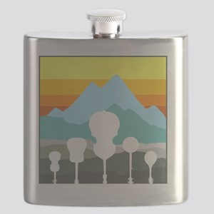 mountain music color transparent Flask