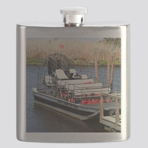 Florida swamp airboat Flask