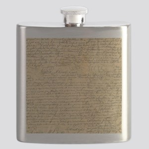 Old Manuscript Flask