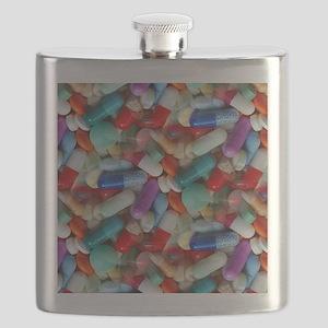drugs pills Flask