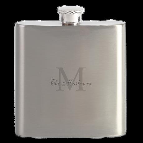 Monogrammed Duvet Cover Flask