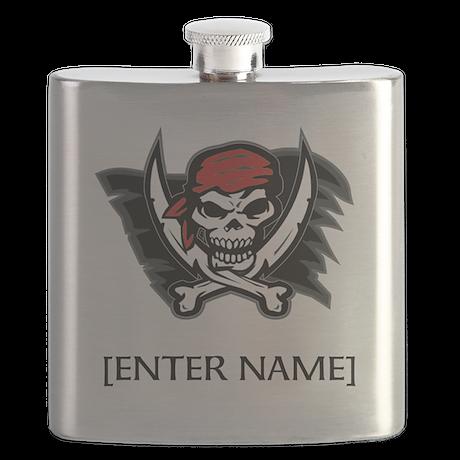 Pirate Flag Customize Flask