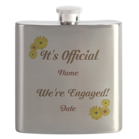 Summer, Fall Engagements Flask