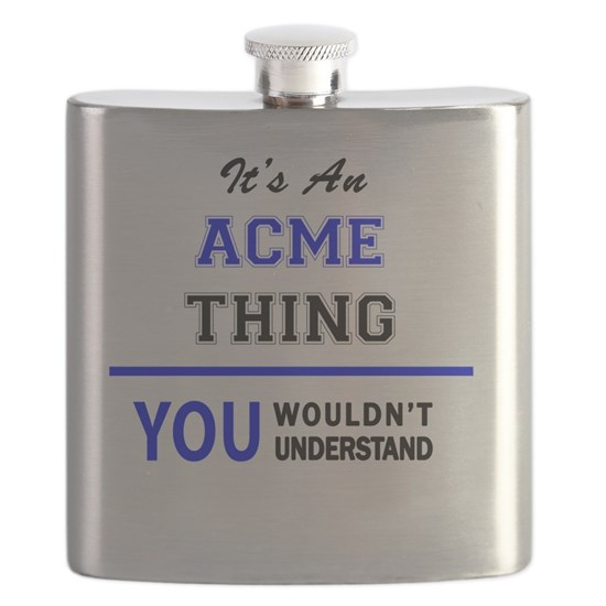 It's an ACME thing, you wouldn't understand