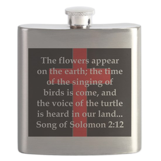 Song of Soloman 2:12 Flask