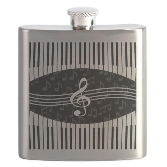dfeae0306dbc Stylish designer piano and music notes Flask