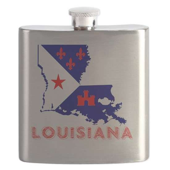 Louisiana Acadiana Red Blue White
