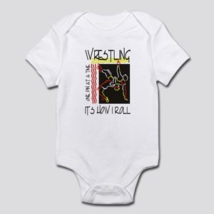 That's How I Roll Wrestling Infant Bodysuit