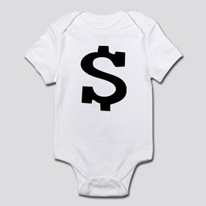 Dollar Sign Infant Bodysuit