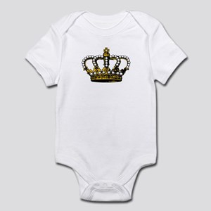 Royal Wedding Crown Infant Bodysuit
