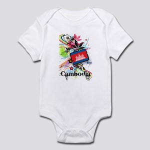 Flower Cambodia Infant Bodysuit
