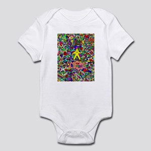 Starman, I Love U, Be Mine Infant Bodysuit