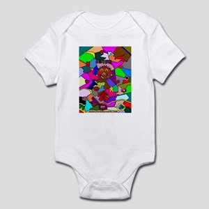 Clownface and Friends Infant Bodysuit