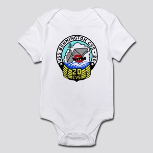 USS Bennington (CVS 20) Infant Bodysuit