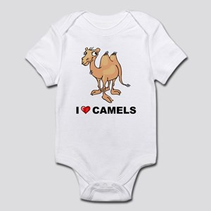 I Love Camels Infant Bodysuit
