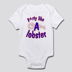 3-party like a lobster resized Body Suit