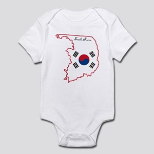 Cool South Korea Infant Bodysuit