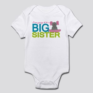 I am going to be a Big Sister Infant Bodysuit