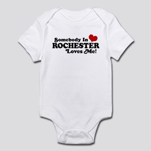 Somebody In Rochester Loves Me Infant Bodysuit