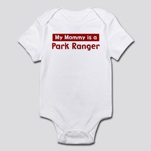 Mom is a Park Ranger Infant Bodysuit