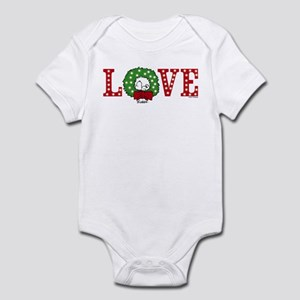 Snoopy Holiday Love Baby Light Bodysuit