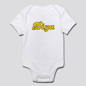 Retro Diya (Gold) Infant Bodysuit