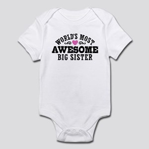 Awesome Big Sister Infant Bodysuit