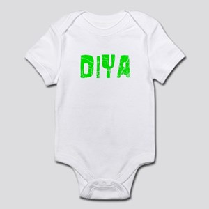 Diya Faded (Green) Infant Bodysuit