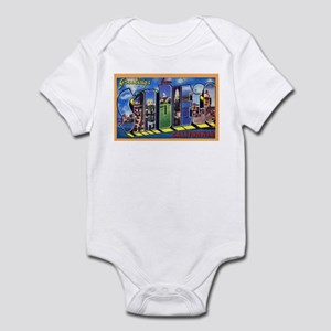San Diego California Greetings Infant Bodysuit