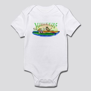 Kayakkin' Infant Bodysuit