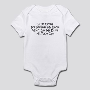 My Uncles Race Car Infant Bodysuit