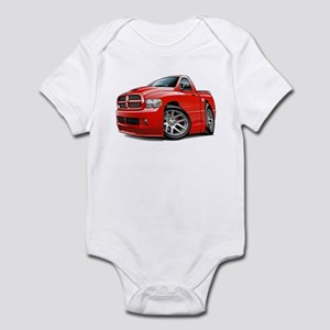 SRT10 Red Truck Infant Bodysuit