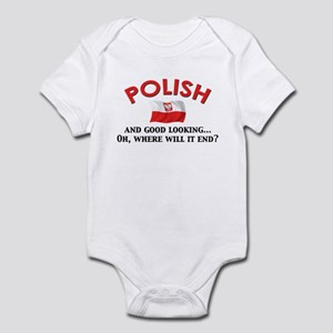 Good Lkg Polish 2 Infant Bodysuit
