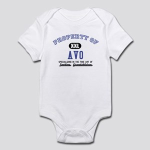Property of Avo Infant Bodysuit