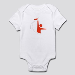 Orange Logo Infant Bodysuit