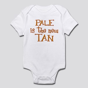 """Pale is the new tan"" Infant Bodysuit"