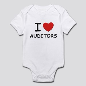 I love auditors Infant Bodysuit