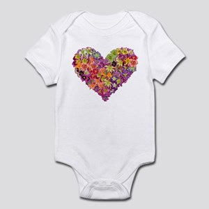 Fairyscape Daylilies Infant Bodysuit
