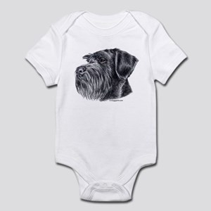 Giant Schnauzer Infant Bodysuit