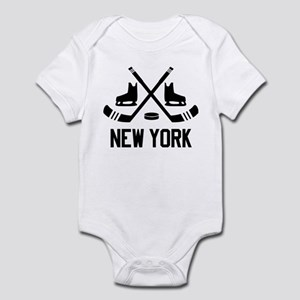 New York Hockey Infant Bodysuit