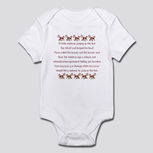 10 Little Monkeys Infant Bodysuit